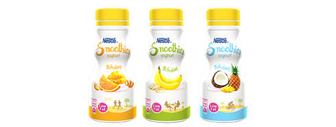 NESTLÉ SMOOTHIES YOGHURT 200mL
